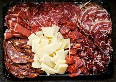 Delicatessen / cheese platters