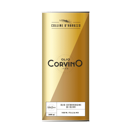 Huile d'Olive Extra Vierge 100% Italiano - 5L