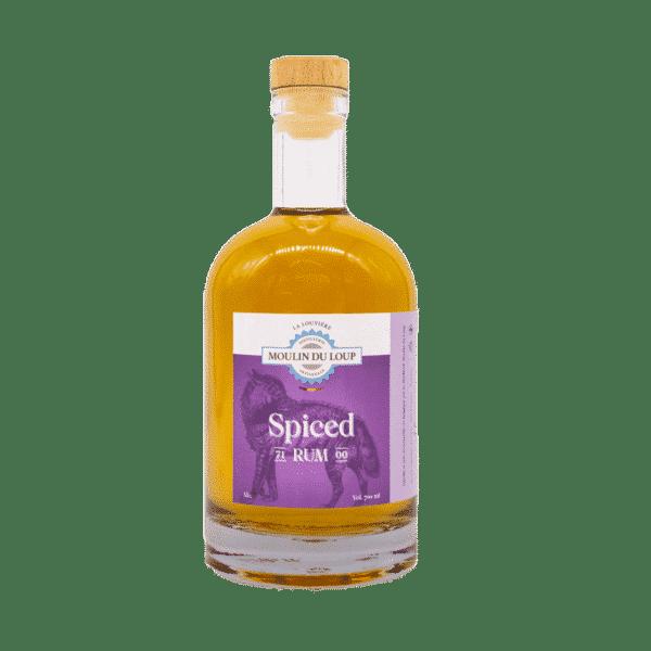 Spiced Dark Rum Moulin du Loup